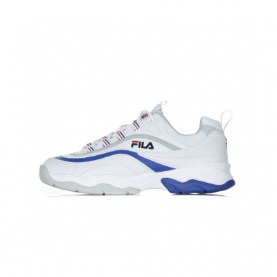 Fila  SCARPA BASSA RAY F LOW WHITE/ELECTRIC BLUE/GREY VIOLET 308132_1348317