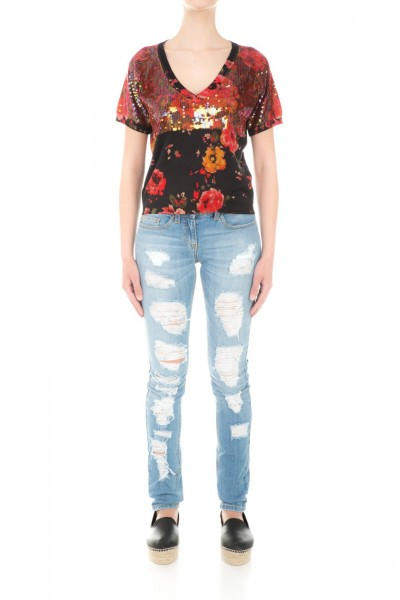 Twin-Set  Tshirt with sequins TS63DU
