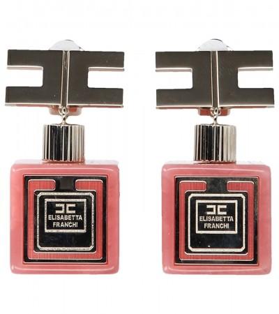Elisabetta Franchi  Perfume bottles earrings OR02B92E2 Peonia