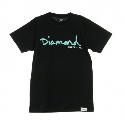 Diamond Supply  OG SCRIPT TEE CORE BLACK T-SHIRT 311580_1361976