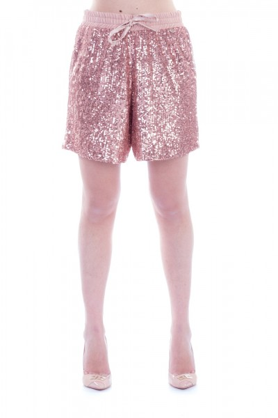 Motel  Shorts with sequins S19P160 ROSA