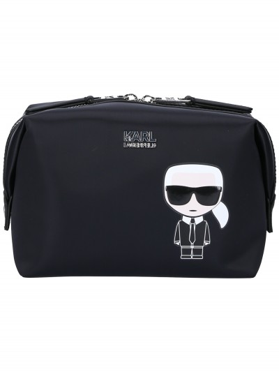 Karl Lagerfeld  Beauty case con Karl Ikonik 96KW3238 NERO