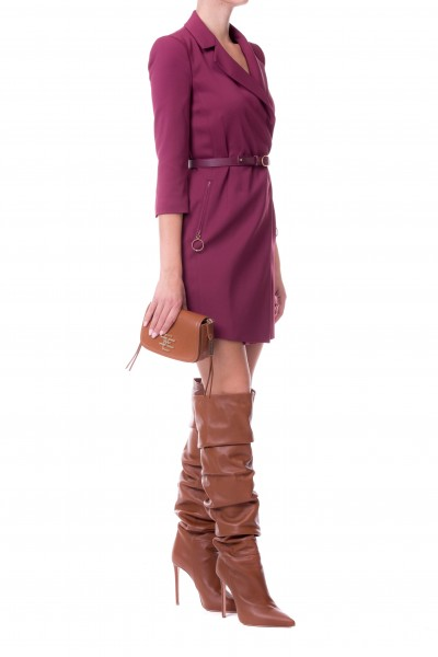 Elisabetta Franchi  Wrapover dress with belt AB64188E2
