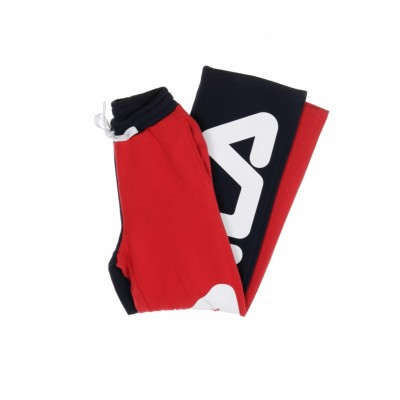 Fila  PANTALONE TUTA BARBARA COLOUR BLOCK FLARED PEACOAT/RED 308658_1350518