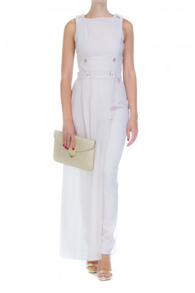 Mangano  Double breasted jumpsuit with gold buttons A17PMNG00039
