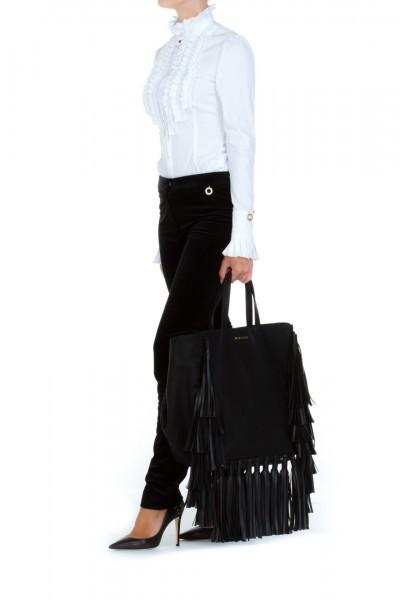 Mangano  Velvet skinny trousers A17PMNG00131