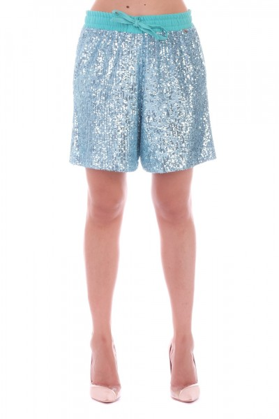 Motel  Shorts with sequins S19P160 Verde