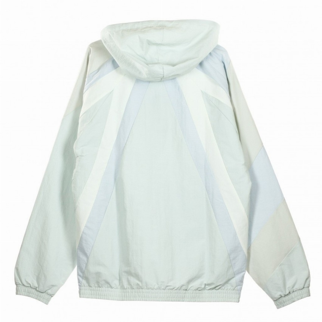 adidas Camo WB Windbreaker Hooded Jacket Full Zipper Grey