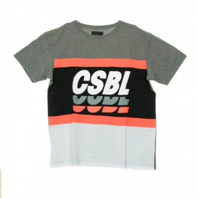 Cayler & Sons  AGLIETTA CSBLSET TEE DK GREY HEATHER/BLACK 321924_1412264