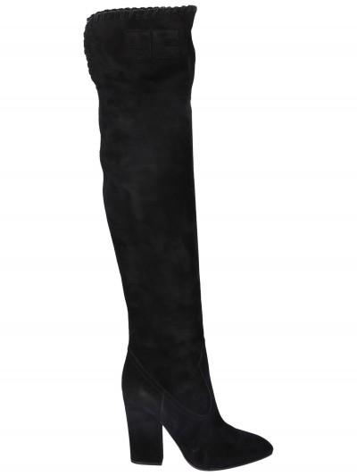 Elisabetta Franchi  Suede boots SA01R96E2 Nero