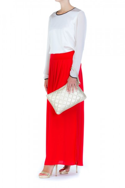 Manila Grace  MANILA GRACE: LONG SKIRT WITH SOFT GAP SS7929