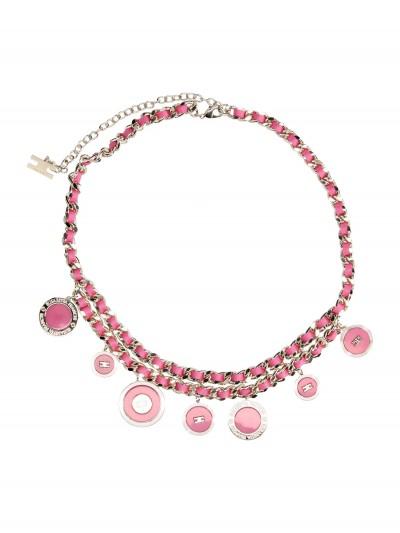 Elisabetta Franchi  Cintura catena con charms CT76B97E2 Barbie