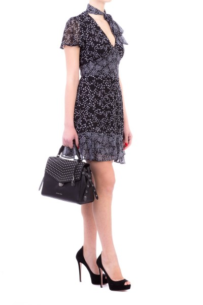Michael Kors  BANDEAU DRESS WITH CURLED TOP MH78XMU82E