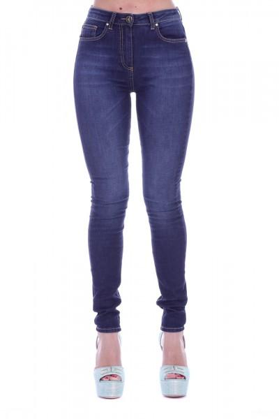 Elisabetta Franchi  Jeans skinny basic PJ13S91E2 Blue vintage