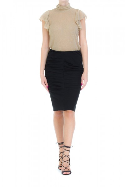 Dixie  Pencil skirt with draping GAHBCLF