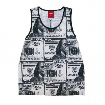 YMCMB  CANOTTA YMCMB TANK TOP MEH PAPER TRAIL Multi unico 414481_1757463