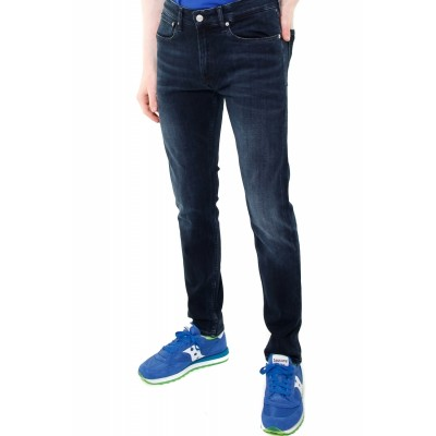 Calvin Klein  JEANS SKINNY IN DENIM BLUE BLACK MODELLO 016 NERO 322979_1418036