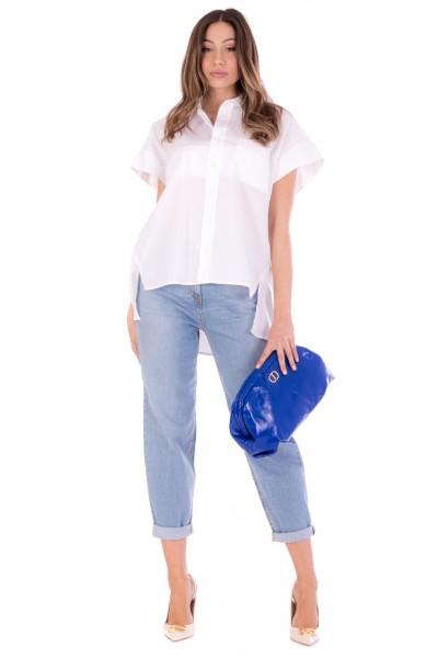 Elisabetta Franchi  Jeans boyfriend PJ06D11E2 Light Blue