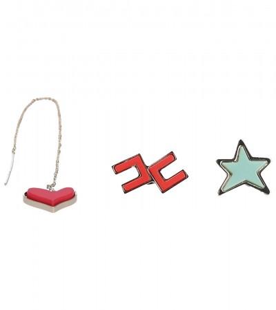 Elisabetta Franchi  Set di tre orecchini OR40A91E2 Multicolor