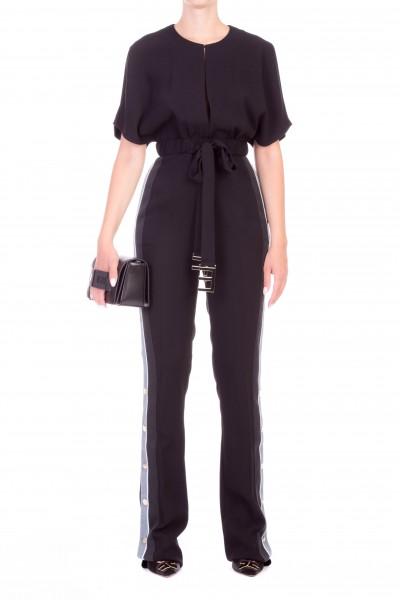 Elisabetta Franchi  Jumpsuit with buttons on the leg TU11386E2