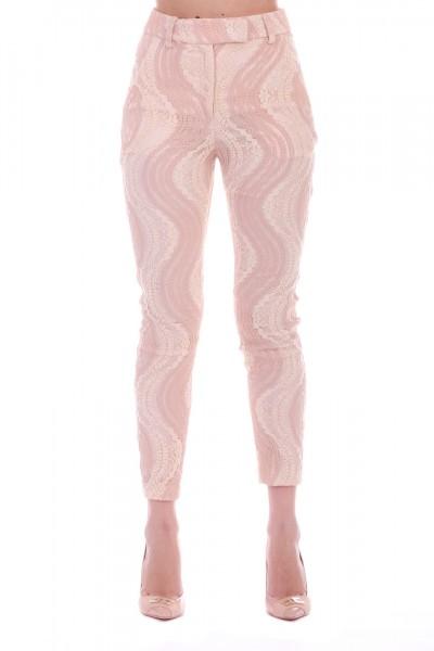 Les Bourdelles des garcons  Laser skinny trousers P16 BEIGE