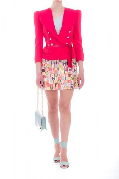 Elisabetta Franchi  Short jacket with buttons GI11391E2 Bouganville