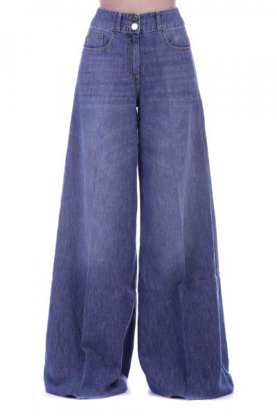 Elisabetta Franchi  Jeans a palazzo PJ18M91E2 Blue vintage