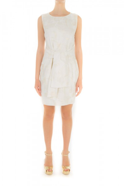 Jucca  Dress with bow at the waist J2317009