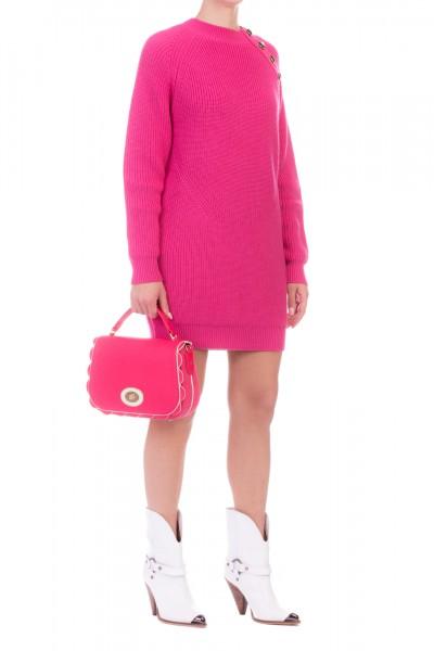 Elisabetta Franchi  Mini Wool Dress AM72S97E2 Barbie