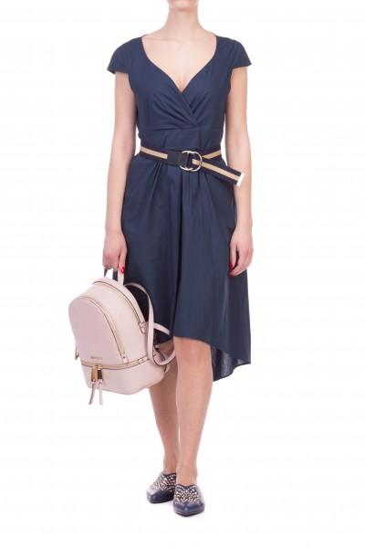 Manila Grace  ASYMMETRIC DRESS WITH SWEETHEART NECKLINE A160CU