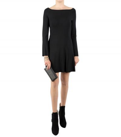 Carla G  Dress with light flounces ACEV20