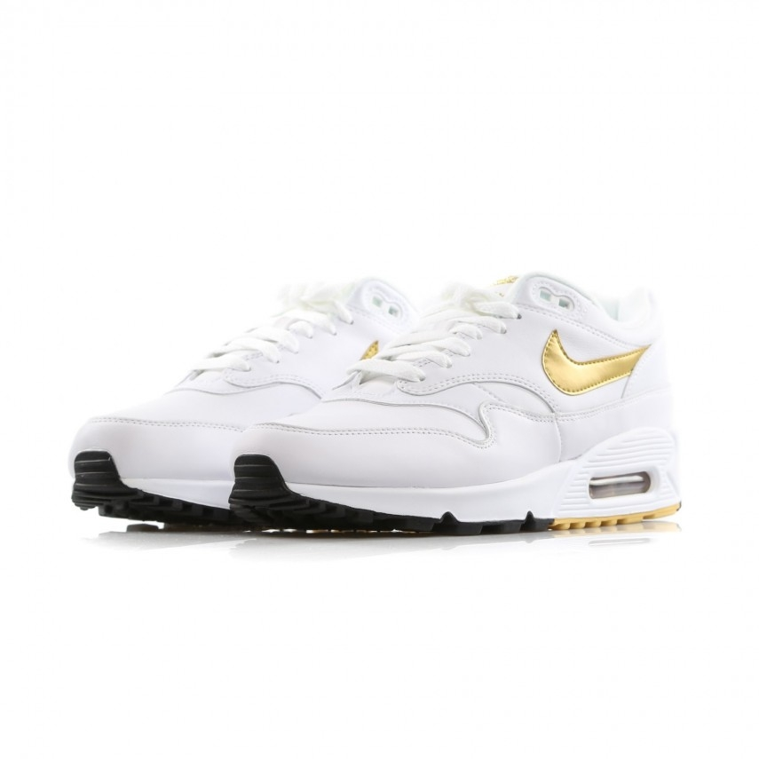 SCARPA BASSA AIR MAX 901 WHITEMETALLIC GOLDBLACK WHITEMETALLIC GOLDBLACK