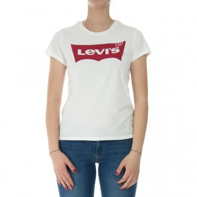 Levi's  Women's evis T-shirt ogo Batwing The Perfect Tee 0053 WHITE 268616_1151917