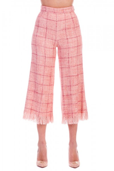 Elisabetta Franchi  Flared trousers PA24991E2 Peonia