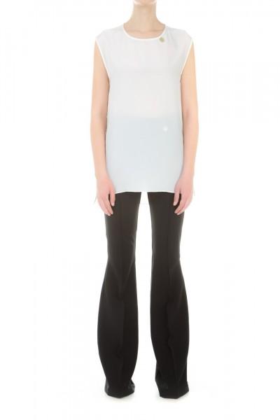 Mangano  Pantalone a vita alta P16PMNG00117