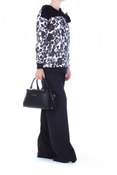 Mangano  Palazzo trousers with belt and tassels AI17PMNG00016