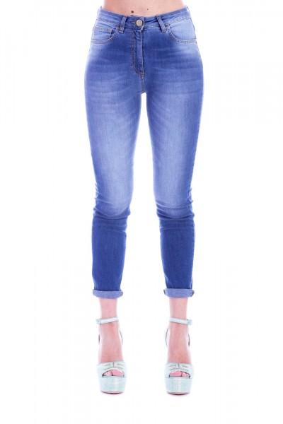 Elisabetta Franchi  Basic and skinny jeans PJ15S91E2 Blue vintage
