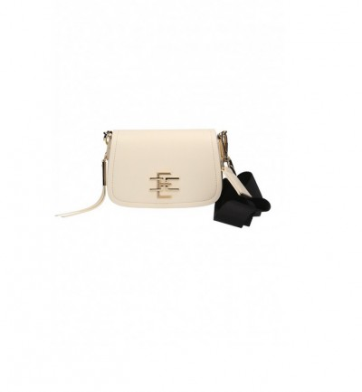 Elisabetta Franchi  Small saddle bag with logo BS37A86E2