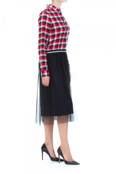 Dixie  Chemiser dress with tulle AASLASF