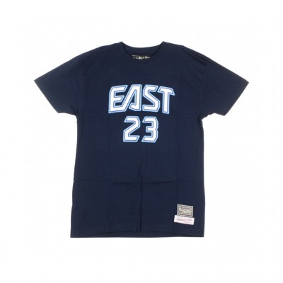 Mitchell & Ness  MAGLIETTA NBA NAME NUMBER TEE NO23 LEBRON JAME ALL TAR EAT 2009 NAVY/ORIGINAL TEAM COLOR 321088_1405623