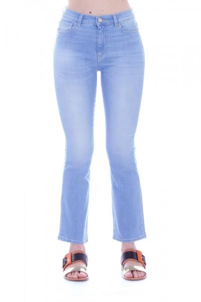 Manila Grace  Flared jeans J400D8 VAR.UNICA