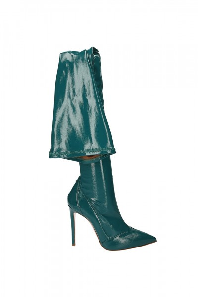 Elisabetta Franchi  Boots in naplak with stiletto heels SA20L87E2