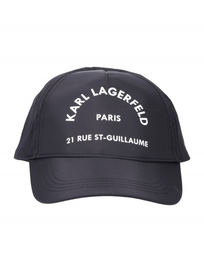 Karl Lagerfeld  Baseball cap with logo 96KW3408 NERO