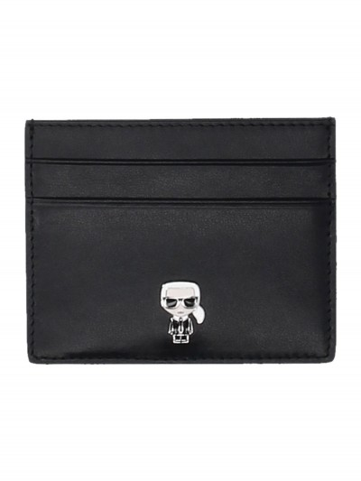 Karl Lagerfeld  Card holder with pin 96KW3229 NERO