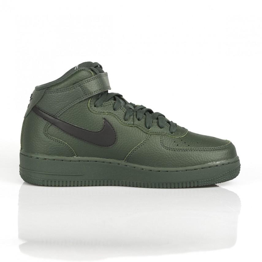Scarpa alta air force 1 mid 07 grove greenblackgrove green