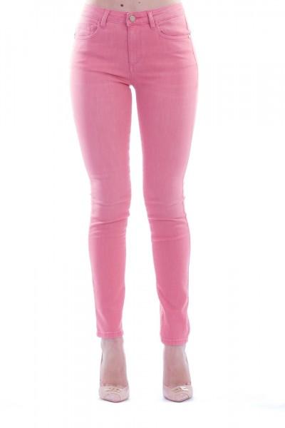 Manila Grace  Five pockets skinny jeans J402DU ROSA