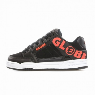 Globe  SCARPE SKATE TILT BLACK/SPICY ORANGE 293806_1289462