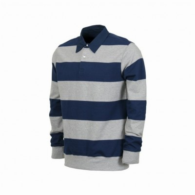 Obey  POLO OBEY POLO HIRT EDINBURGH RUGBY HeatherGrey/Blue unico 292221_1284271
